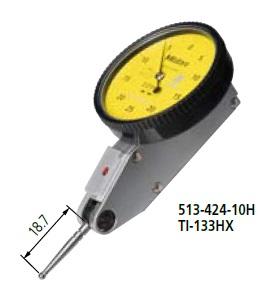 耐久性と感度 視認性が向上 ミツトヨ Mitutoyo 往復送料無料 テストインジケータ ノークラッチ 縦形 513-424-10H 標準 TI-133HX ショップ