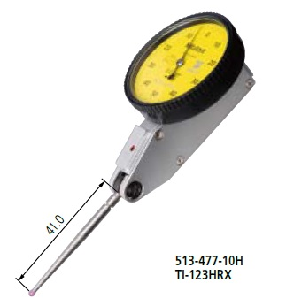 ミツトヨ (Mitutoyo) テストインジケータ TI-123HRX (513-477-10H) (縦形・標準・ノークラッチ)