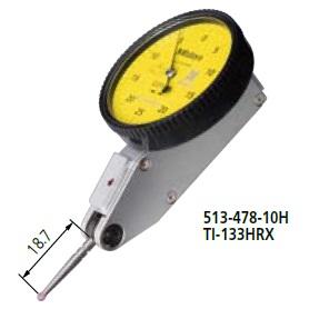 ミツトヨ (Mitutoyo) テストインジケータ TI-133HRX (513-478-10H) (縦形・標準・ノークラッチ)