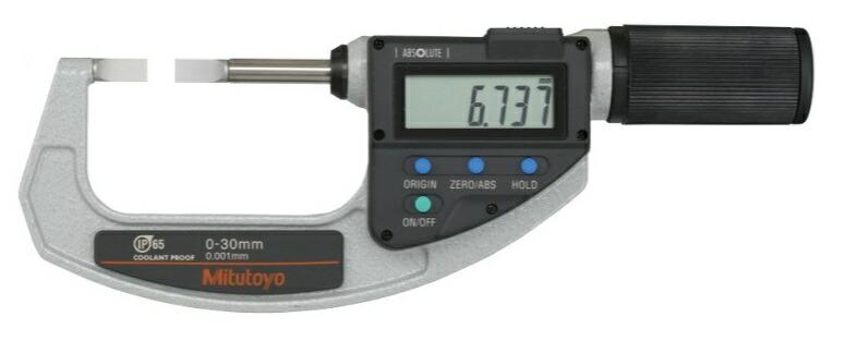 ミツトヨ (Mitutoyo) マイクロメーター BLM-30QMX (422-411-20) (直進式ブレードクイックマイクロ)