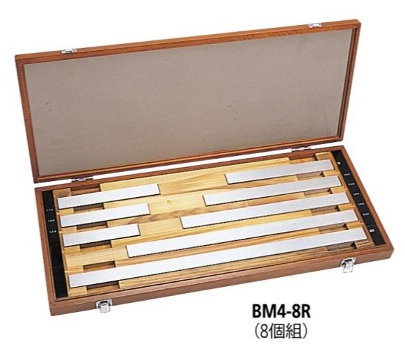 ミツトヨ (Mitutoyo) スケヤゲージブロック標準セット 長尺 BM4-8R-1 (516-753) (8個組)