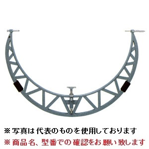 【直送品】 ミツトヨ (Mitutoyo) マイクロメーター OMS1-1800P (105-415) (計量パイプフレームスライドアンビル式外側マイクロメータ) 【特大・送料別】