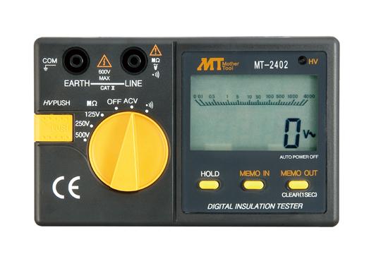 マザーツール (MT) デジタル絶縁抵抗計 MT-2401
