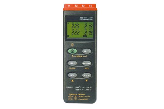 マザーツール (MT) デジタルデータロガ温度計(4点式) MT-309