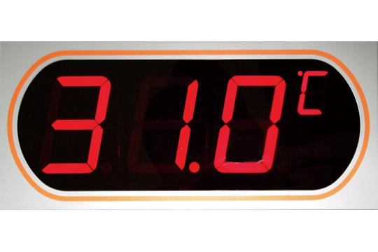 マザーツール (MT) デジタルLED表示大文字温度計(上限・下限設定モデル) MT-872