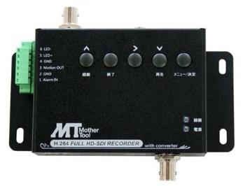 マザーツール (MT) フルハイビジョン録画対応 HD-SDI カメラ専用 SD カードレコーダー MT-SDR1012