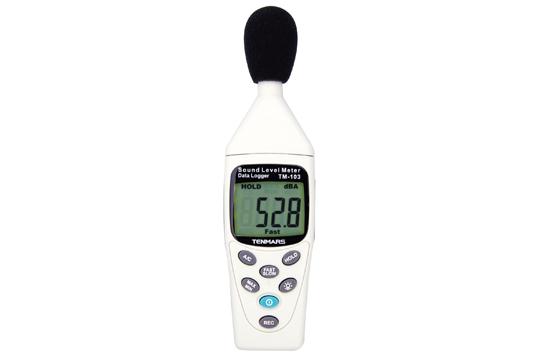 マザーツール (MT) データロガ機能付デジタル騒音計 TM-103