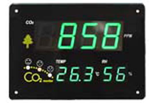 マザーツール (MT) 壁掛け式CO2モニタ ZGkb201