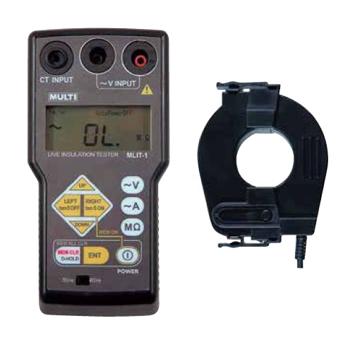 マルチ計測器 クランプ式活線絶縁抵抗計 MLIT-1 《漏れ電流・Ior測定用》