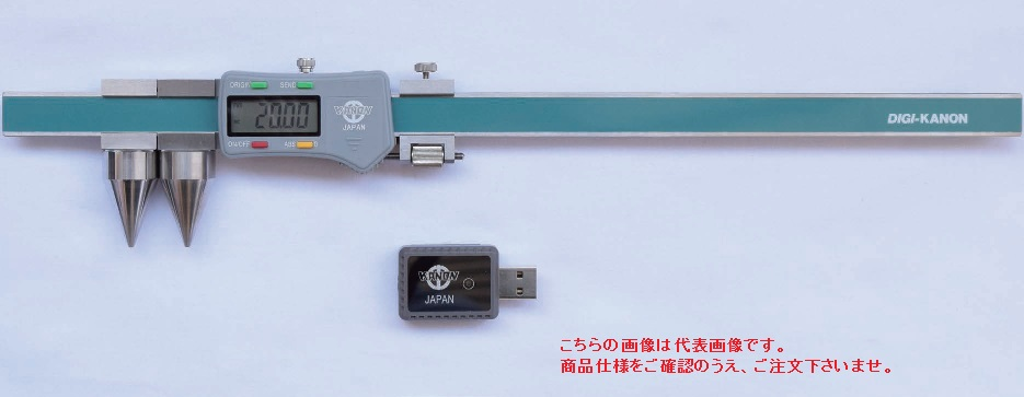 中村製作所 (KANON) 無線ノギス E-RX20FW 〈直読式丸穴ピッチ測定タイプ〉
