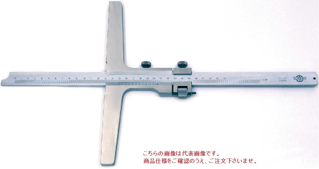 中村製作所 (KANON) ロングベースデプスゲージ LSDM15X25
