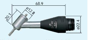 ナカニシ (NAKANISHI) 45°アングルアタッチメント EKC-300 (1526) アングルアタッチメント