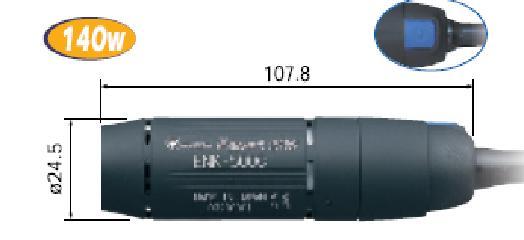 ナカニシ (NAKANISHI) エスパート500 コンパクトモータ ENK-500C (9088) コンパクトモータ