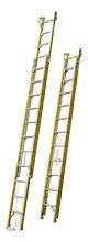 【直送品】 ナカオ (NAKAO) 2連伸縮はしご バンボ 2-65GF 【法人向け、個人宅配送不可】 【大型】