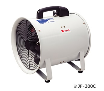 【代引不可】 ナカトミ 軸流送排風機 JF-300C 【法人向け、個人宅配送不可】 【送料別】