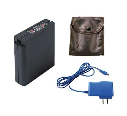 【直送品】 空調服保守パーツ 大容量リチウムイオンバッテリーセット LIULTRA1