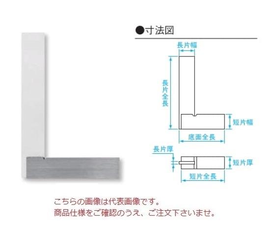 新潟精機 台付直角定規 AA-F500 (002113) (JIS 1級相当品 焼入)