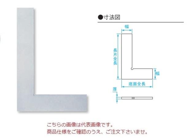 新潟精機 平形直角定規 DD-F400 (002311) (JIS 1級相当品 焼入)