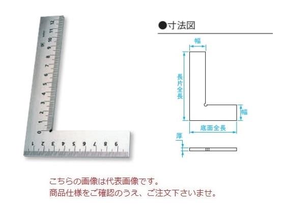 【直送品】 新潟精機 目盛付平形スコヤ E-1000 (002623) 【大型】