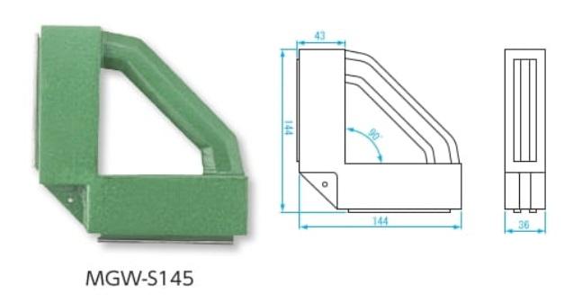 新潟精機 溶接用マグネウェルダ MGW-S145 (012855) (強力保持タイプ)