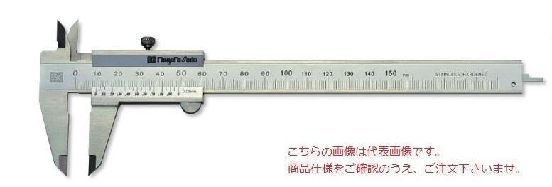 【直送品】 新潟精機 シルバー標準型ノギス TVC-100 (151096) 【大型】
