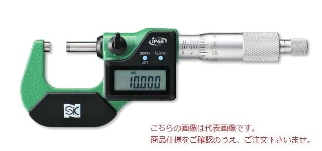 新潟精機 デジタル外側マイクロメータ MCD-133-50IP (151197) (IP65 相当)