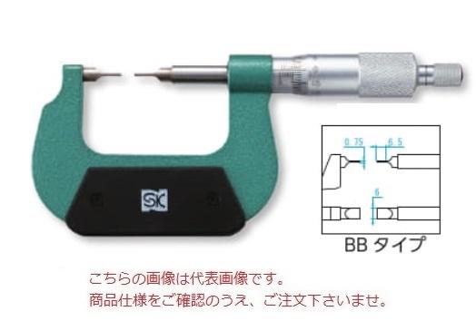 新潟精機 直進式ブレードマイクロメータ MC201-25BB (151251)