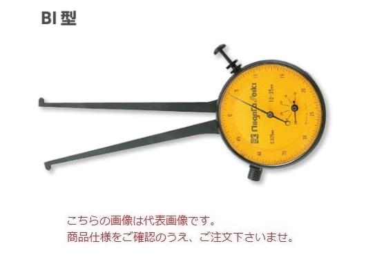 新潟精機 ダイヤルキャリパゲージ BI-2 (151552) (内側)