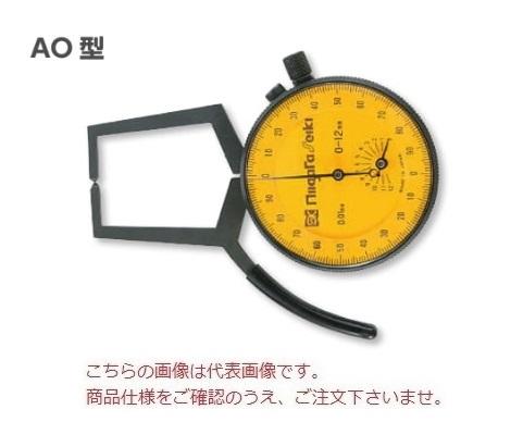 新潟精機 ダイヤルキャリパゲージ AO-2 (151562) (外側)