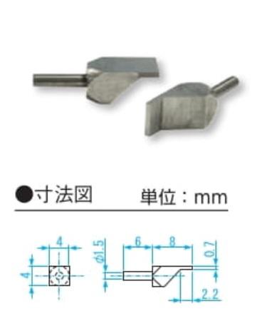新潟精機 ベンチテーブル用ブレード測定子 BT-KA07 (151774)