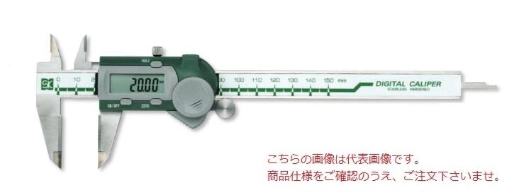 新潟精機 デジタルノギス GDCS-200W (151957) (超硬チップ付)