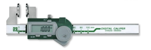 新潟精機 ワイヤーロープ径測定ノギス GDCS-100WR (151974)
