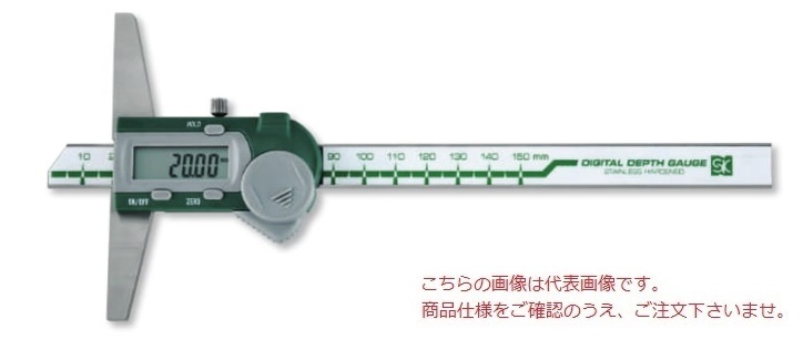 新潟精機 デジタルデプスゲージ GDCS-300D (151986)