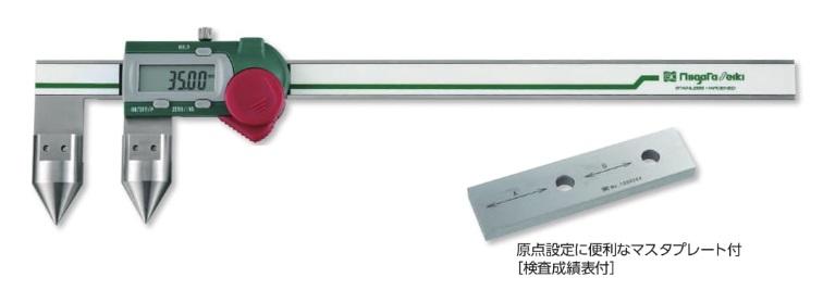 新潟精機 穴ピッチ用デジタルノギス GDCP-200AA (151989)