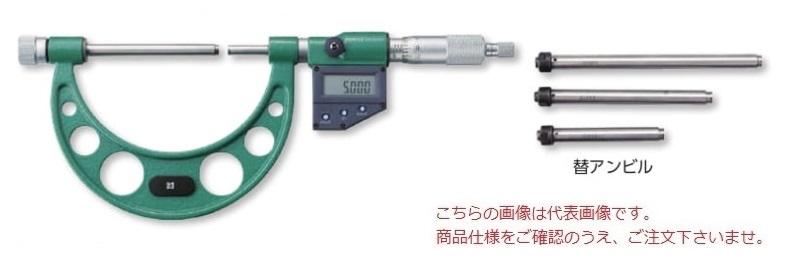 新潟精機 デジタル替アンビル式外側マイクロメータ MCD136-200 (152152)