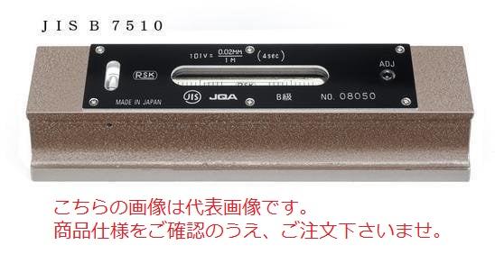 新潟理研測範 精密平形水準器 NO.542B-200-0.05 (542B-200-005) (JIS B級)