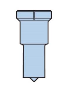 日東工器 Dポンチ 22x11 91243 (セルファー・マルチワーカー用)