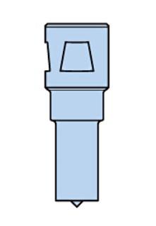 6.3 mm File Shank Nitto Kohki USA NIT SH-100A Nitto Kohki SH-100A Super Hand Filer 3700 SPM 85 PSI 9 mm Stroke Length