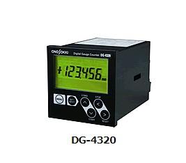 小野測器 ディジタルゲージカウンタ DG-4320 〈オープンコレクタBCD型〉