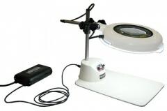 オーツカ光学 (OOTSUKA) LED照明拡大境・調光付 LSK-B ラウンド6倍
