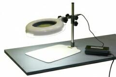 オーツカ光学よりご提案します  オーツカ光学 (OOTSUKA) LED照明拡大鏡・調光なし LSKs-B ラウンド6倍