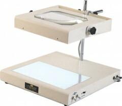 【ポイント10倍】 オーツカ光学 (OOTSUKA) 照明拡大鏡/スクエアシリーズ(WIDE-1) WIDE-1 2倍
