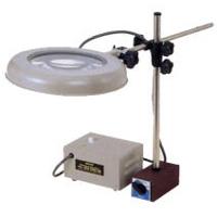 オーツカ光学 (OOTSUKA) LED照明拡大鏡 LEKsワイド-MS 4倍 (LEKS-MS-WIDE-4X) (マグネットスタンド式)