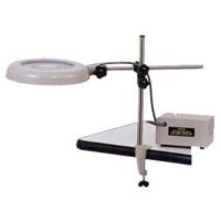 【ポイント5倍】 オーツカ光学 (OOTSUKA) LED照明拡大鏡 LEKsワイド-ST 2倍 (LEKS-ST-WIDE-2X) (ロングバー式)