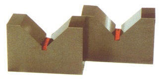 大西測定 硬鋼製Vブロック 38 焼入 128-38 (VVA-38) (2個1組)