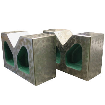 大西測定 鋳鉄製精密ヤゲン台A型 50 A級 126-50A (VAA-50) (2個1組)