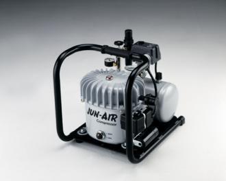 【代引不可】 JUN-AIR コンプレッサー 給油式 6-4 (6-J) 単相100V 〈6シリーズ〉 【メーカー直送品】