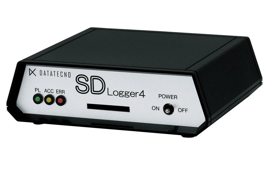 データ・テクノ SDロガー DT-MCK4-XS ケースタイプ