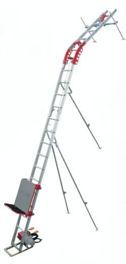 最新のデザイン 標準セット 【大型】:道具屋さん店 スーパータワーR UP106R-H-2F 2階用 【直送品】 《荷揚げ機》 (※ウインチ無し) レールセット ユニパー (106-00-005)-DIY・工具