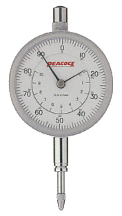 PEACOCK(尾崎製作所) 標準型ダイヤルゲージ 0.01mm 107W